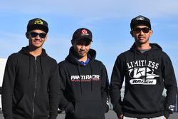 AM Fadly, Manual Tech KYT Kawasaki Racing; Richard Taroreh, Yamaha Racing Indonesia dan Ahmad Yudhistira, Manual Tech KYT Kawasaki Racing