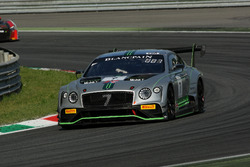 #7 Bentley Team M-Sport Bentley Continental GT3: Steven Kane, Guy Smith, Jules Gounon