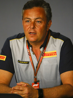 Mario Isola, Racing Manager, Pirelli Motorsport, in a Press Conference