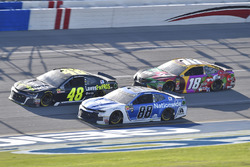 Jimmie Johnson, Hendrick Motorsports, Chevrolet Camaro Lowe's for Pros, Alex Bowman, Hendrick Motorsports, Chevrolet Camaro Nationwide, Kyle Busch, Joe Gibbs Racing, Toyota Camry M&M's Flavor Vote