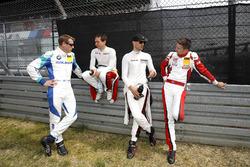 Питер Дамбрек, Falken Motorsports, Вольф Хенцлер и Мэтт Кэмпбелл, Frikadelli Racing Team, Ларс Керн, Manthey Racing