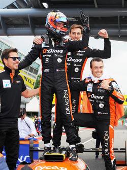 Ganadores #26 G-Drive Racing Oreca 07 - Gibson: Roman Rusinov, Andrea Pizzitola, Jean Eric Vergne