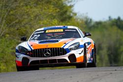#72 Robinson Racing Mercedes-AMG GT4: Shane Lewis