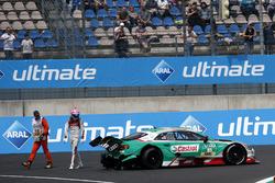 Nico Müller, Audi Sport Team Abt Sportsline, Audi RS 5 DTM después del accidente