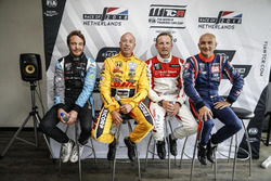 Frédéric Vervisch, Audi Sport Team Comtoyou Audi RS 3 LMS, Tom Coronel, Boutsen Ginion Racing Honda Civic Type R TCR, Bernhard van Oranje, Bas Koeten Racing Audi RS3 LMS, Gabriele Tarquini, BRC Racing Team Hyundai i30 N TCR