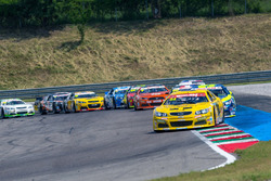 Alon Day, CAAL Racing Chevrolet leads