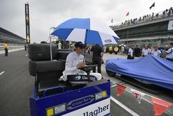 Max Chilton, Carlin Chevrolet Rain Delay
