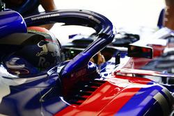 Brendon Hartley, Toro Rosso, in cockpit