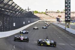 Charlie Kimball, Carlin Chevrolet, Robert Wickens, Schmidt Peterson Motorsports Honda