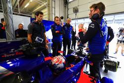 Marc Marquez teste la Toro Rosso F1, Mark Webber