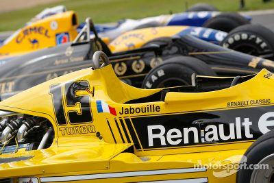 Renault turbocharger eerbetoon