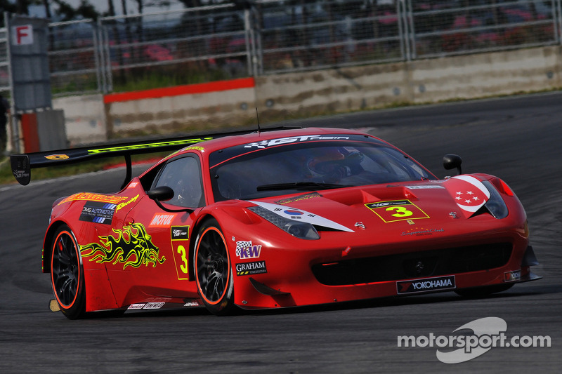 Clearwater Racing Ferrari 458 İtalya GT3: Keita Sawa, Mok Weng Sun