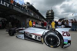 Car of Kurt Busch, Andretti Autosport Honda
