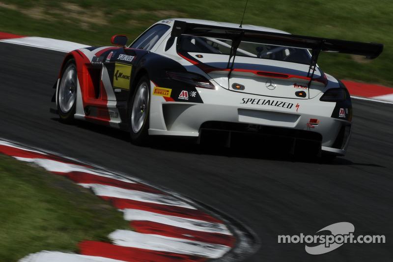 #63 Fortec Motorsports 梅赛德斯 SLS AMG GT3: 米盖尔·托里尔, 阿尔曼·易卜拉欣