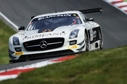 #84 HTP Motorsport Mercedes SLS AMG GT3: Maximilian Buhk, Maximilian Götz
