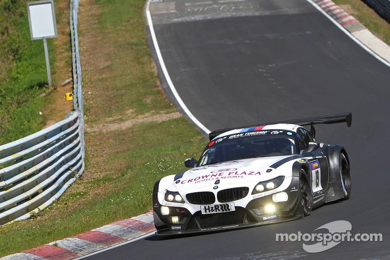 Lucas Luhr, Dirk Werner, Dirk Muller, Alexander Sims, BMW Sports Trophy Equipe Schubert, BMW Z4 GT3