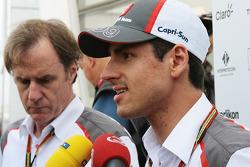 Adrian Sutil, Sauber con i media