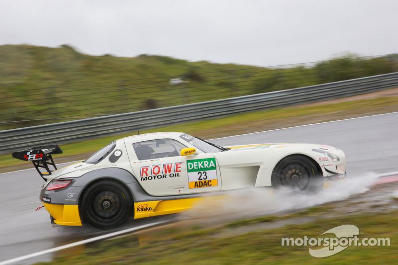 #23 ROWE Racing 梅赛德斯-奔驰 SLS AMG GT3: 马罗·恩格尔, 扬·赛费特