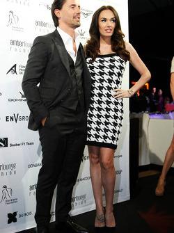 Amber Lounge: Tamara Ecclestone, Tochter von Bernie Ecclestone, mit Ehemann Jay Rutland
