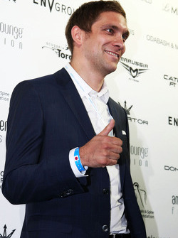Vitaly Petrov, at the Amber Lounge Fashion Show