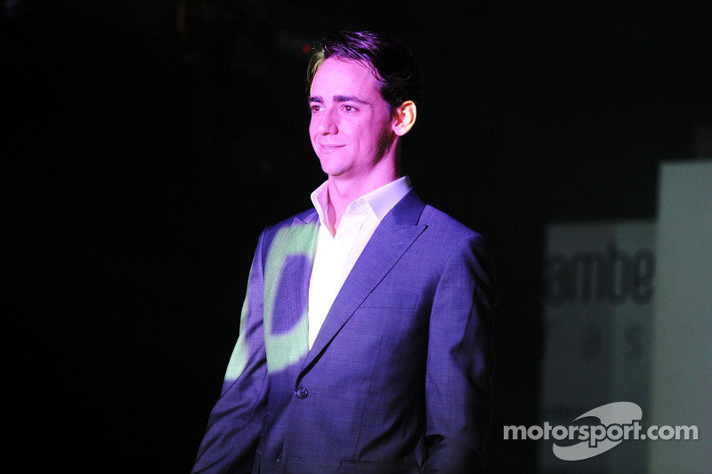 Esteban Gutierrez, Sauber at the Amber Lounge Fashion Show