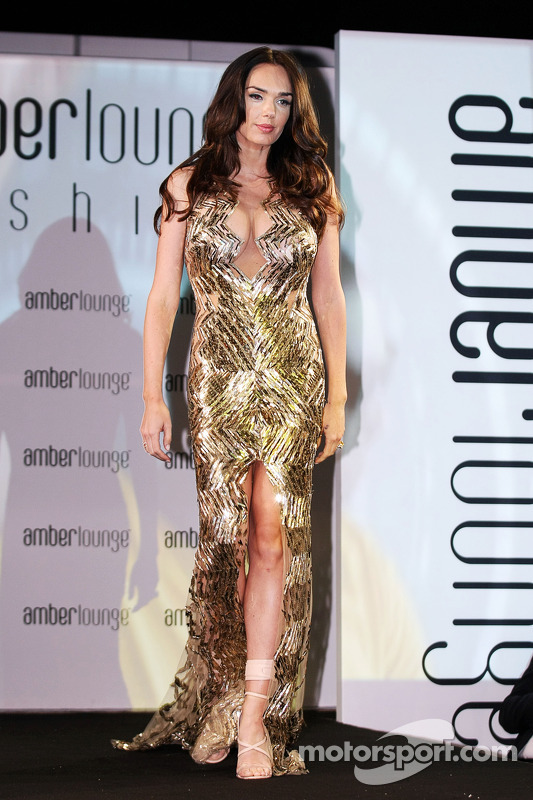Tamara Ecclestone, no Amber Lounge Fashion Show