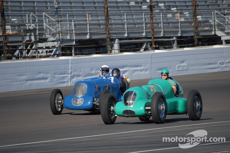 Auto vintage all'Indianapolis Motor Speedway
