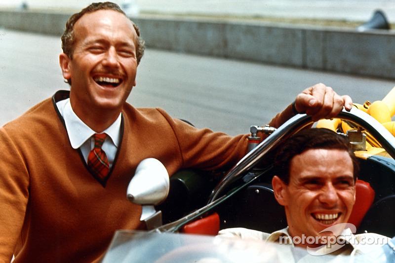 Colin Chapman et Jim Clark