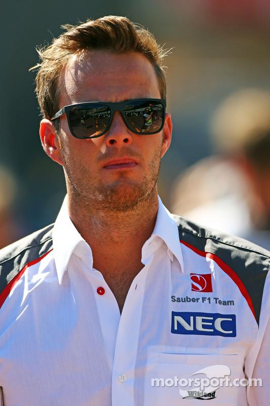 Giedo van der Garde, Sauber, Testfahrer