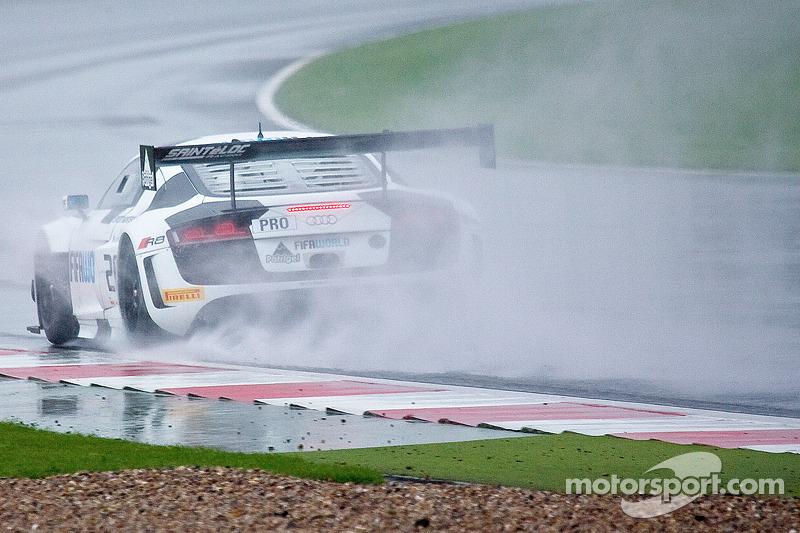 #25 Sainteloc Racing Audi R8 LMS Ultra: Claude-Yves Gosselin, Jean-Claude Lagniez, Marc Sourd