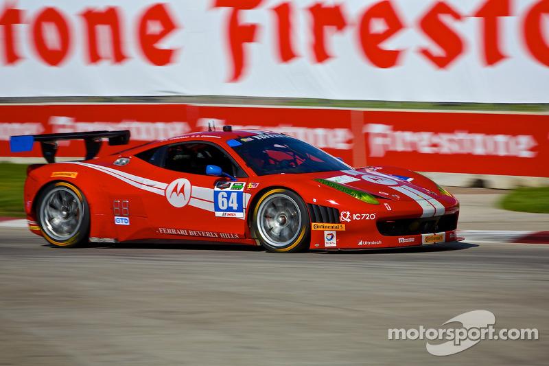#64 Scuderia Corsa 法拉利 458 Italia: 斯蒂芬·约翰森, 凯利·马尔切利