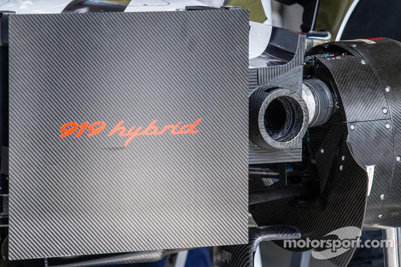 Detalhe do #20 Porsche Team Porsche 919 Hybrid