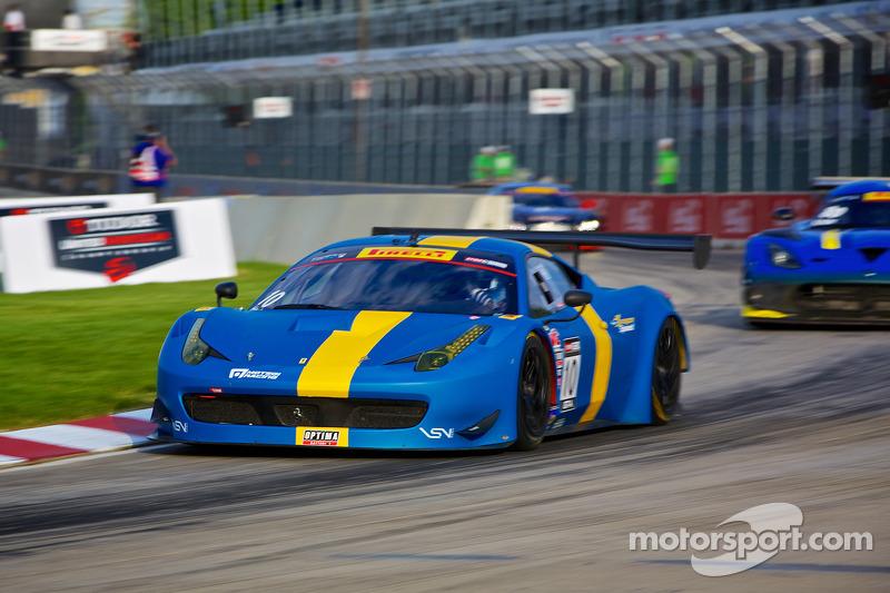 #10 DragonSpeed 法拉利 458 GT3 Italia: 亨里克·赫德曼