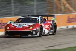 #555 AIM Autosport Ferrari 458 Italia: Bill Sweedler & Townsend Bell
