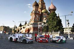 Sébastien Loeb, Citroen C-Elysee WTCC, Citröen Total WTCC, Jose Maria Lopez, Citroen C-Elysee WTCC, Citröen Total WTCC, Ma Qing Hua, Citroen C-Elysee WTCC, Citröen Total WTCC, Yvan Muller, Citroen C-Elysee WTCC, Citroen Total WTCC, Tiago Monteiro, Honda