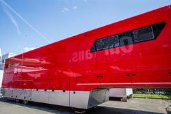 Ferrari Corse Clienti transporter
