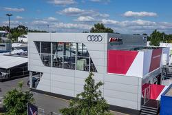 Audi Sport Team Joest hospitality