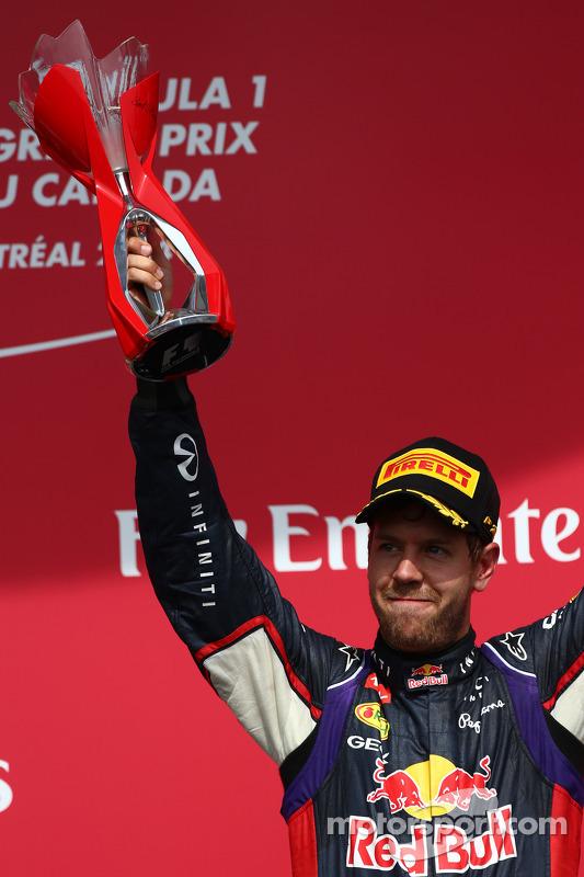 3rd place Sebastian Vettel, Red Bull Racing