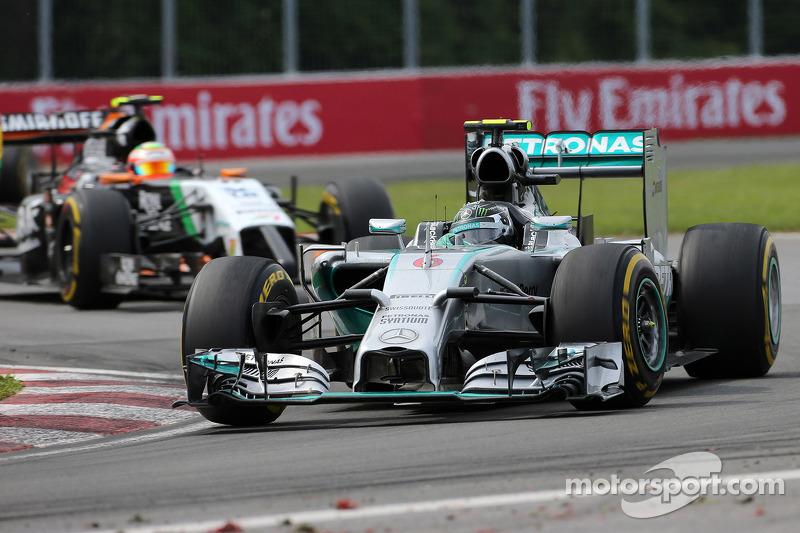Nico Rosberg, da Mercedes AMG F1 Team 08