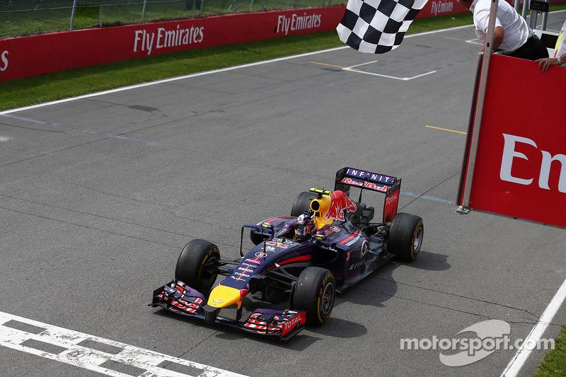 Переможець Даніель Ріккардо, Red Bull - Renault