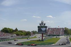 Fernando Alonso, Ferrari F14-T and team mate Kimi Raikkonen, Ferrari F14-T