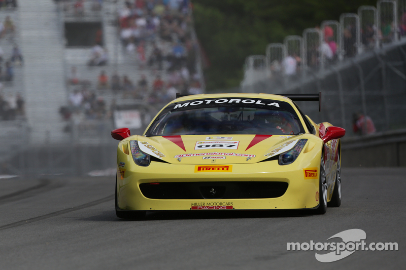 #087 Miller Motorcars 法拉利 458: 道格·彼得森
