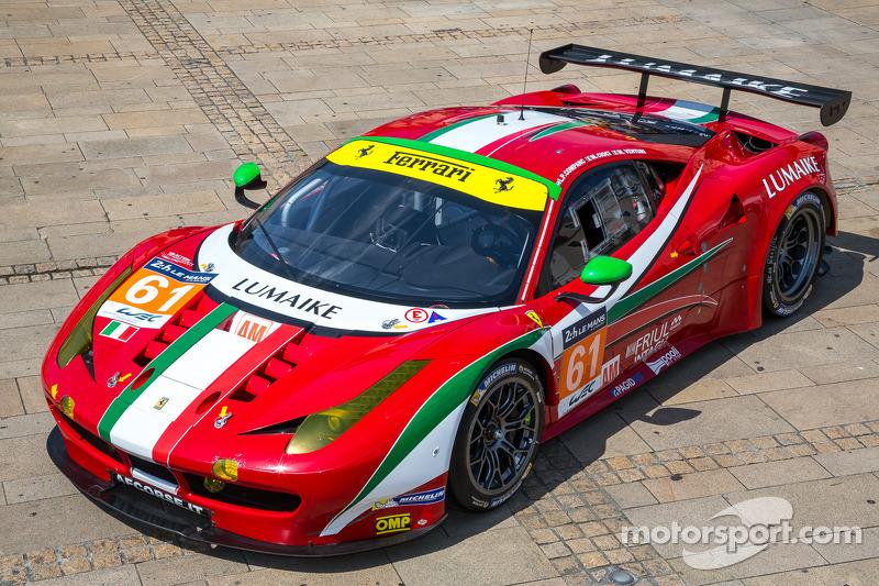#61 AF Corse 法拉利 458 Italia