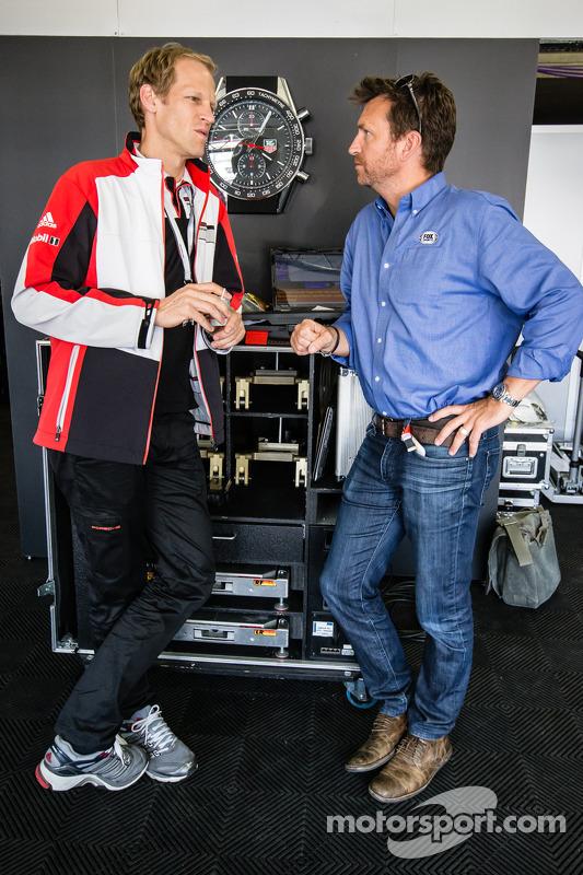 Jörg Bergmeister e Justin Bell