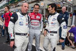 Anthony Pons, Benoit Tréluyer e Soheil Ayari