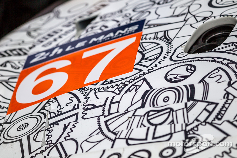 #67 IMSA Performance Matmut 保时捷 911 GT3 RSR (997) 细节