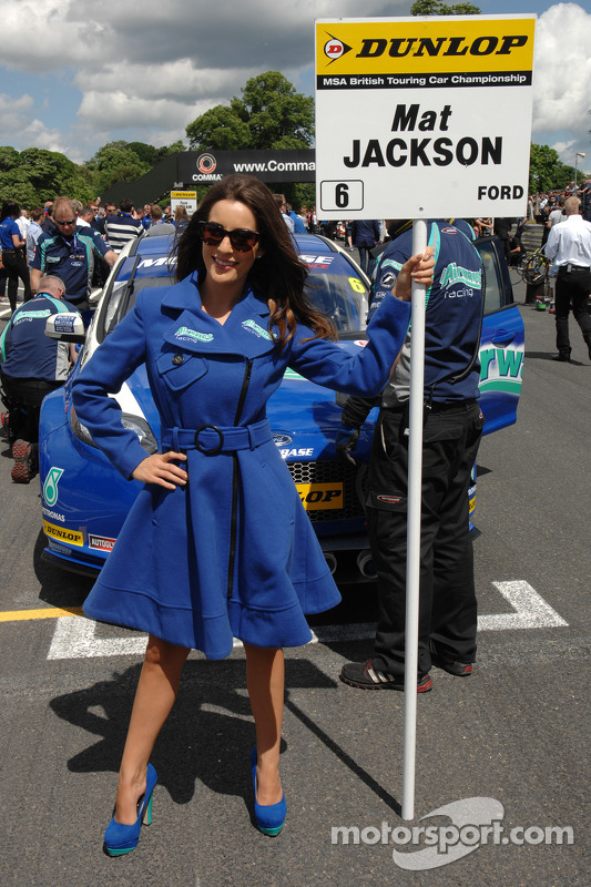 Grid Girl da Airwaves Racing