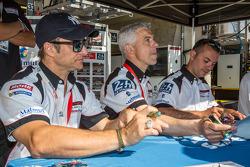 Raymond Narac, Nicolas Armindo, David Hallyday