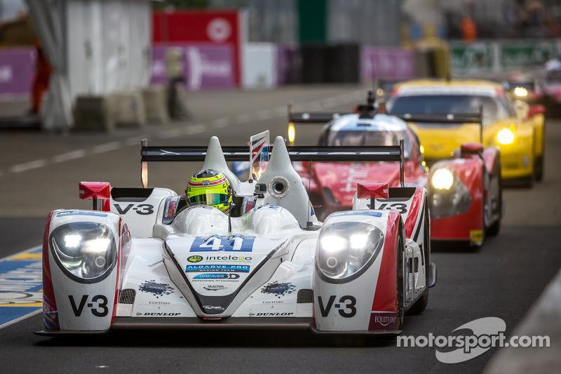 #41 Greaves Motorsport Zytek Z11SN - 日产: 鲁多夫·努内曼, 亚历山德罗·拉蒂夫, 詹姆斯·温斯洛
