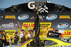 Race winner Paul Menard